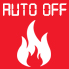 Auto-off heating